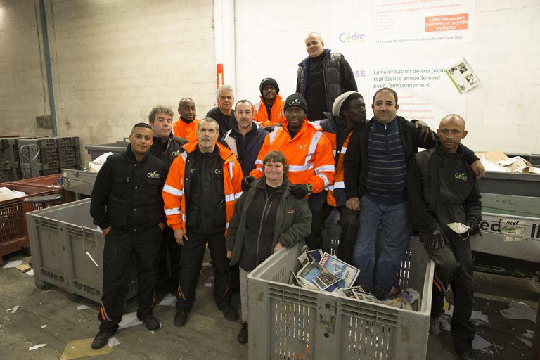 Recyclage et création d'emplois
