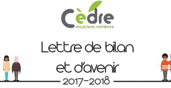 Lettre de bilan Cèdre 2018 - 2018