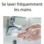 Se laver les mains régulièrement
