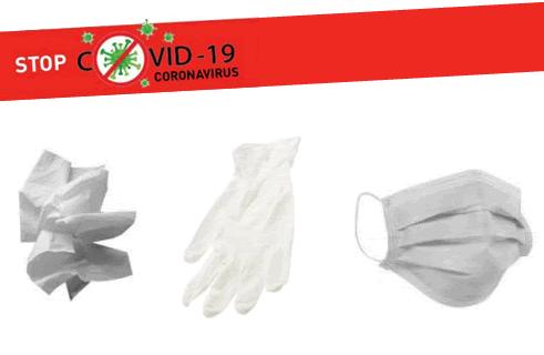 Mouchoirs en papier, gants, masques, lingettes: où jeter mes déchets de protection contre le Covid-19