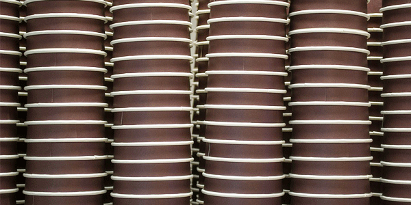 Recyclage gobelets cartons en carton