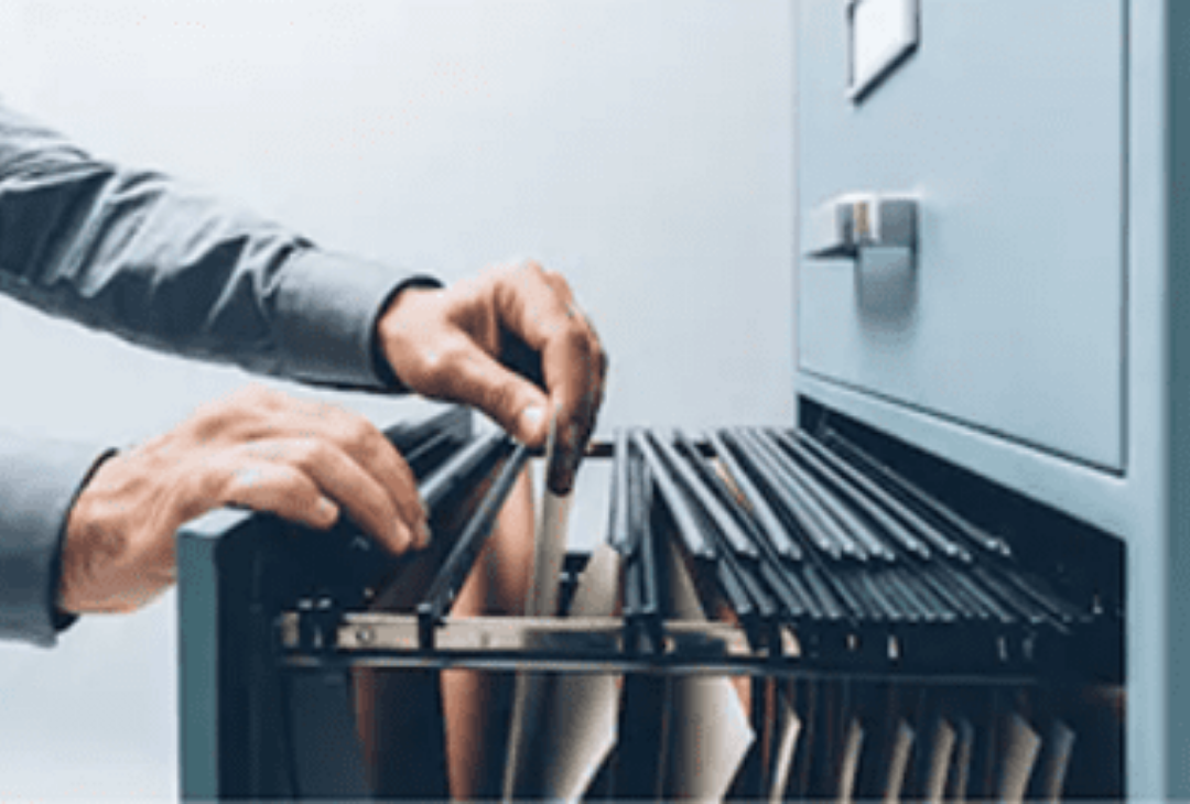 Mobilier caisson archive