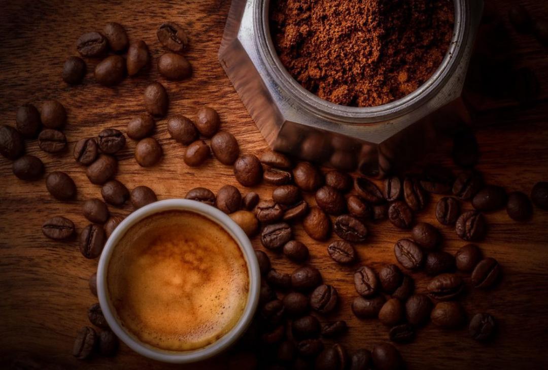 Café graine de café gobelet