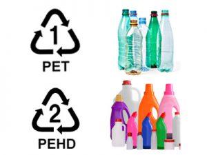 Illutration plastique PET et PEHD