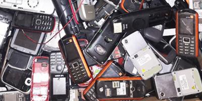 Téléphones portables des entreprises à recycler