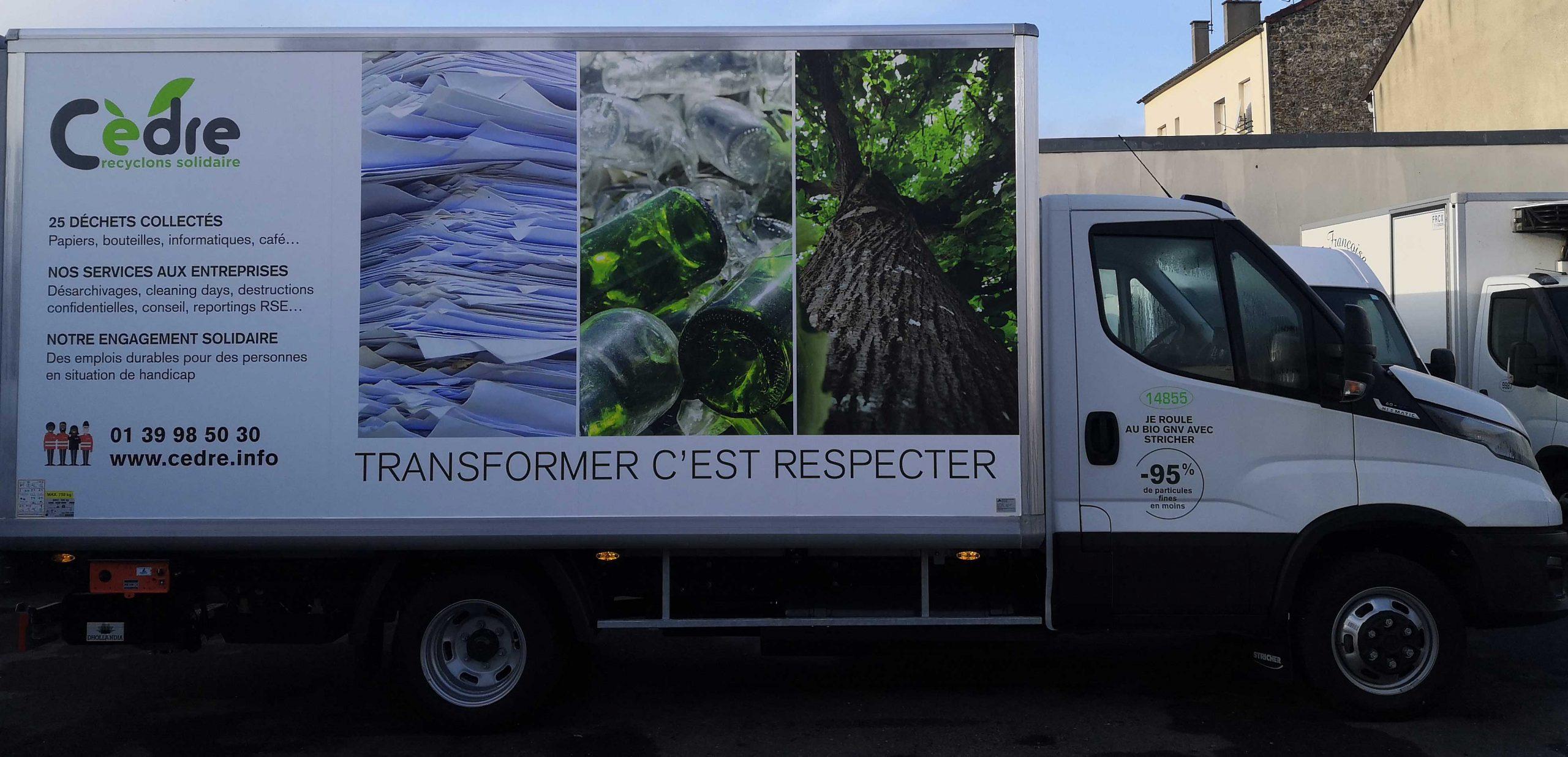 Camion Bio GNV Coté