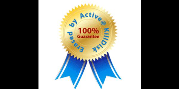 Certificat éffacement de données confidentielles DEEE