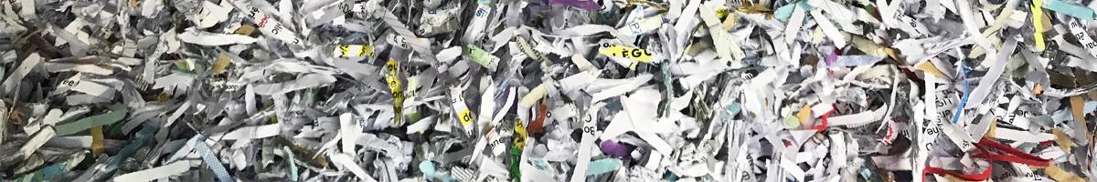 Destruction de papiers confidentiels