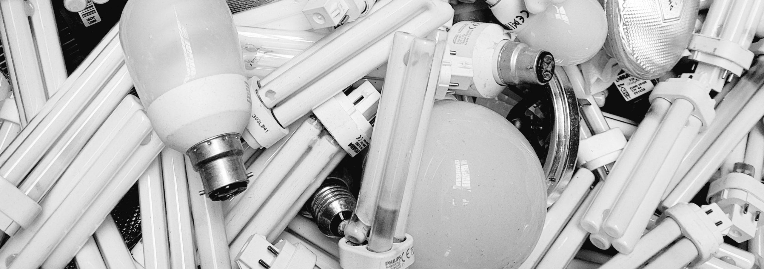 Recyclage des ampoules en entreprise au bureau