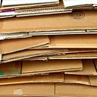 recyclage des cartons au bureau et entreprise