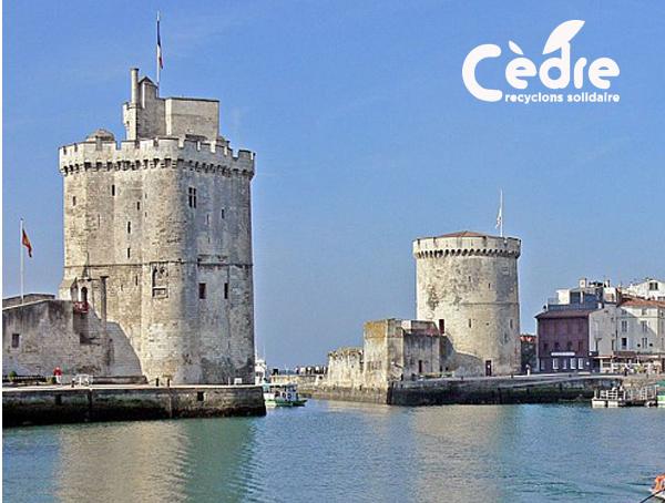 Recyclage des déchets de bureau à La Rochelle