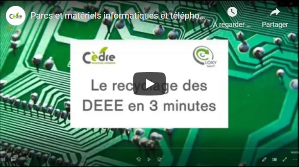 Recyclage matériaux DEEE