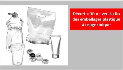 Emballages plastique à usage unique